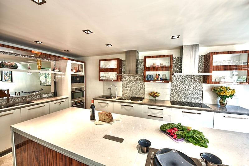 A Chef's Dream Contemporary Kitchen
