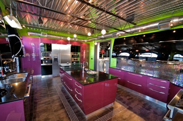 Contemporary Explosion Kitchen