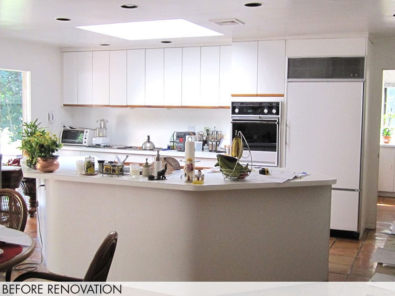 Brookville Contemporary Kitchen – Before Renovation